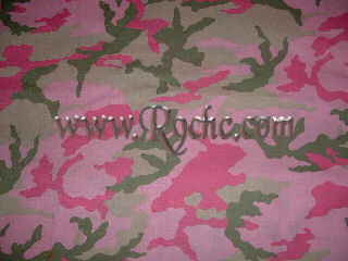 Pink & Green Camo