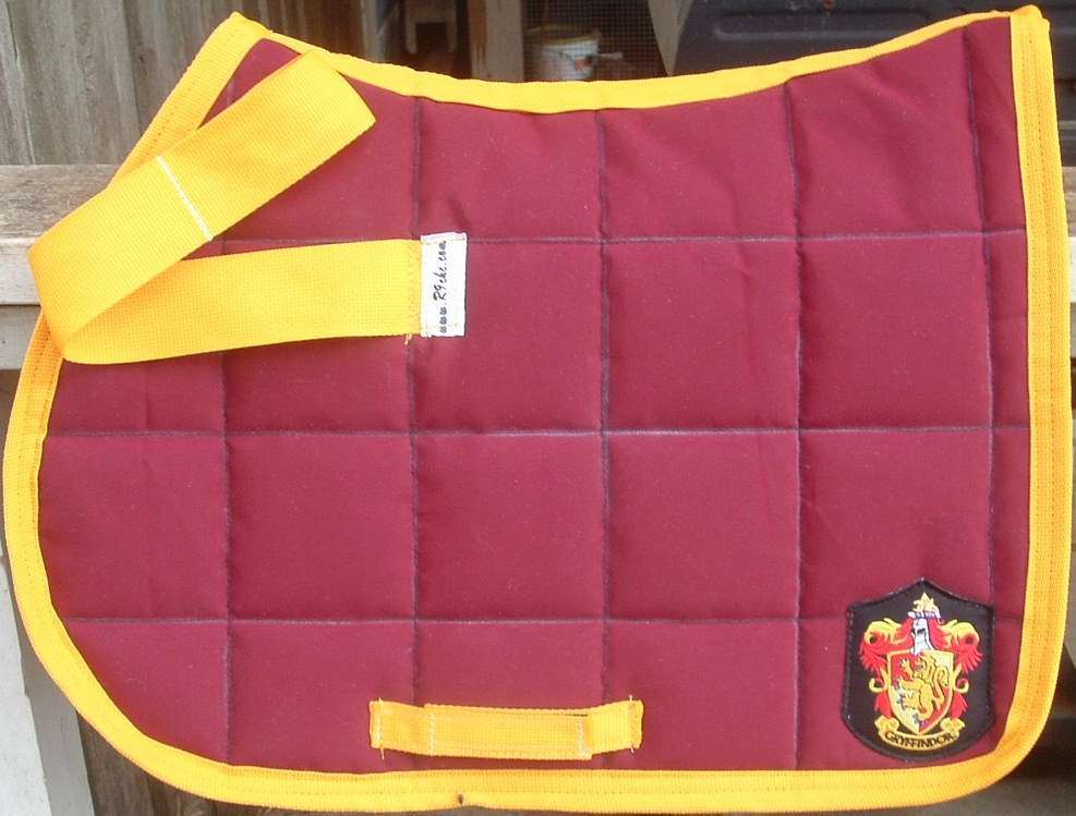 Gryffindor Pony Saddle pad